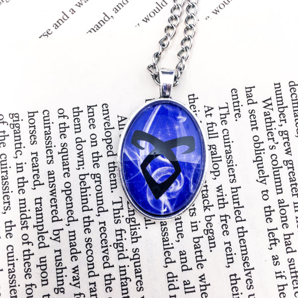 Angelic Rune Necklace - Belle Regalia