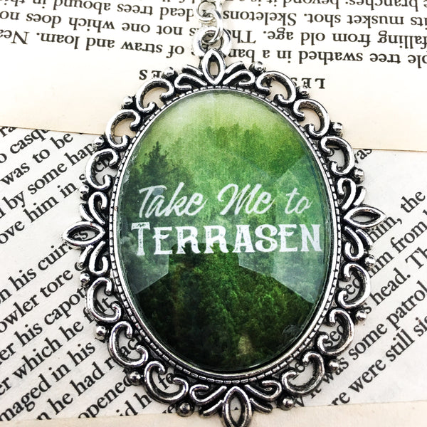 Take Me To Terrasen Necklace