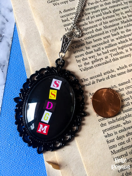 SSDGM necklace - small or large