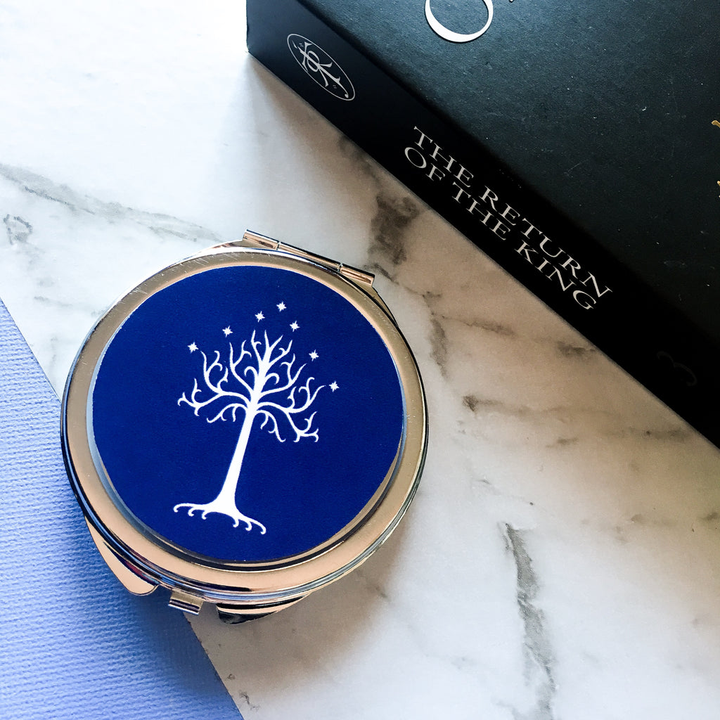 White Tree of Gondor compact mirror