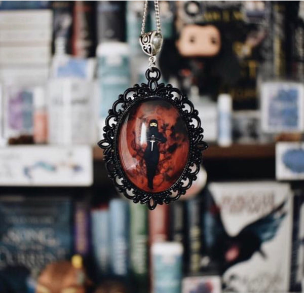 Mia Corvere Nevernight Necklace