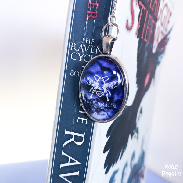 Safe As Life metal bookmark~ Raven Boys