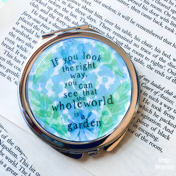 The Secret Garden Compact Mirror