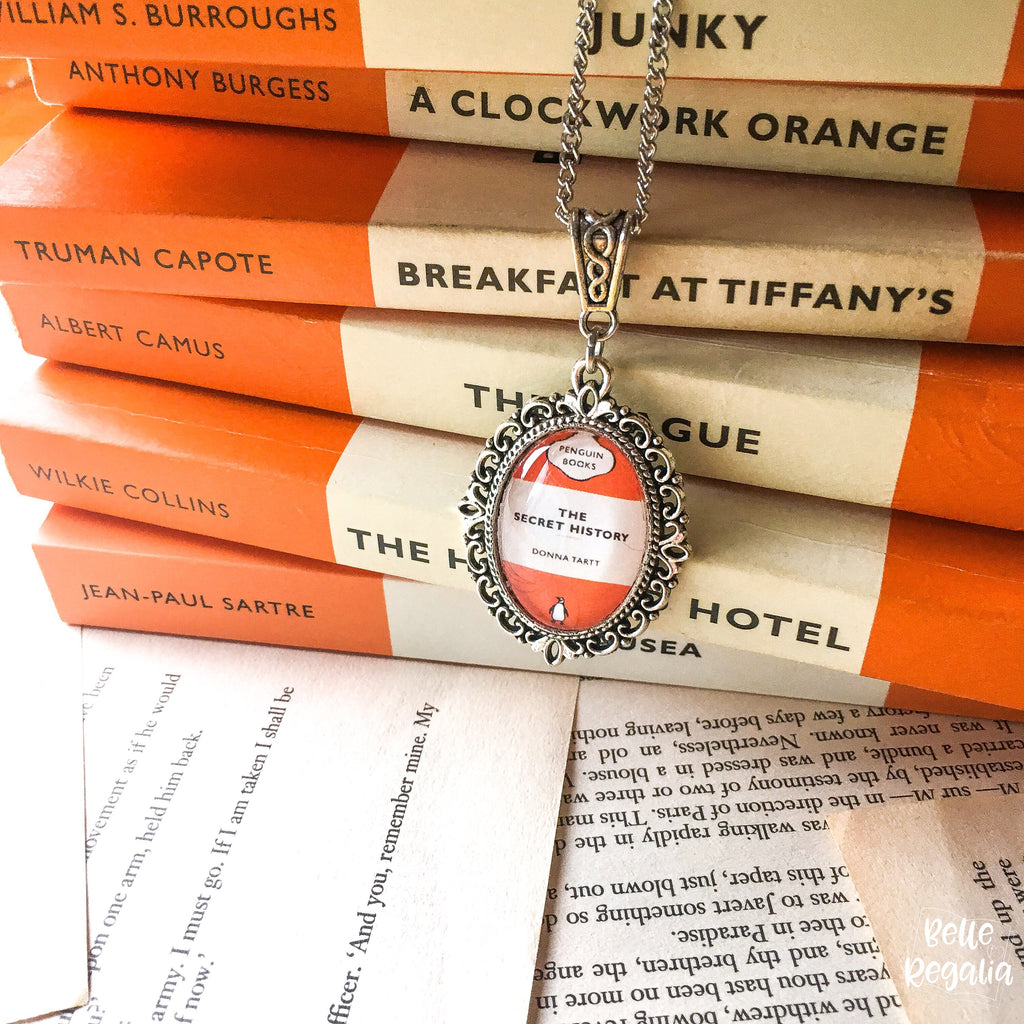 Popular Penguin Classics Book Cover Necklace (small)