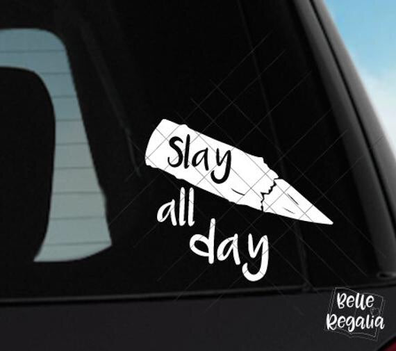 Buffy Slay All Day, Sticker decal