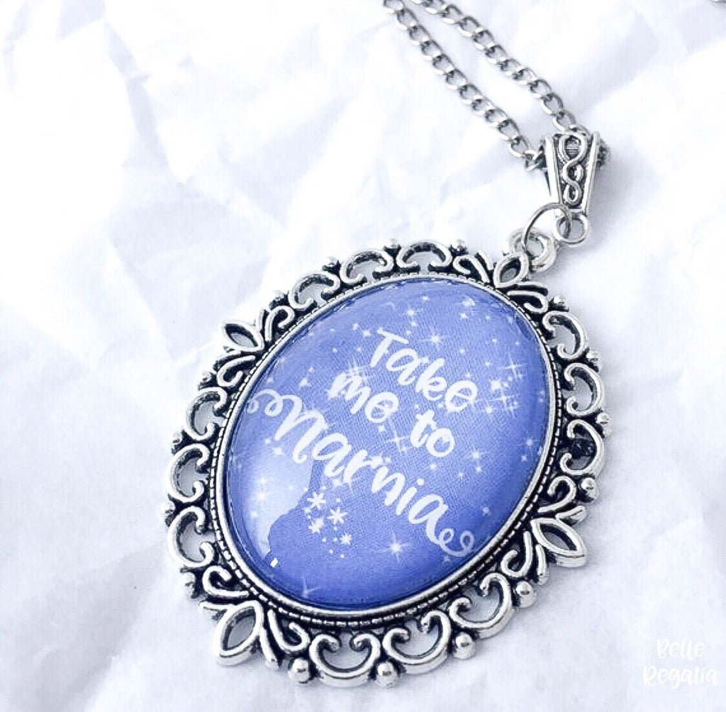 Take Me to Narnia Necklace