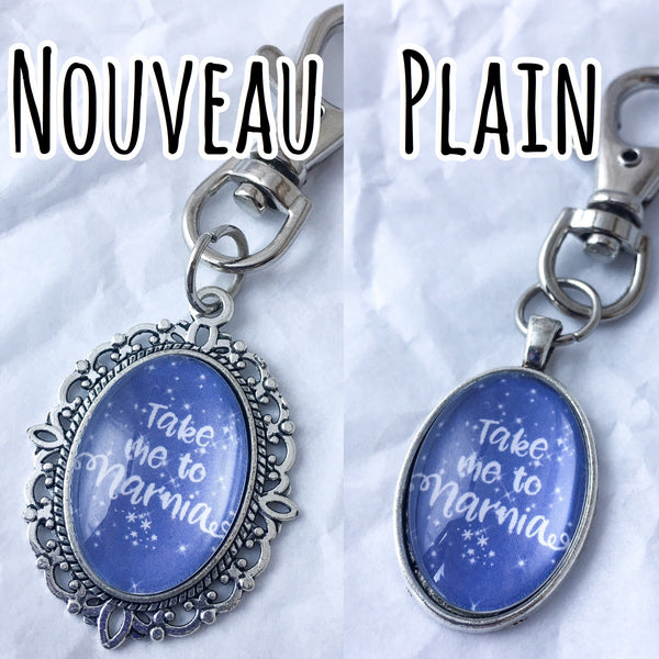 Take Me To Neverland Keyring