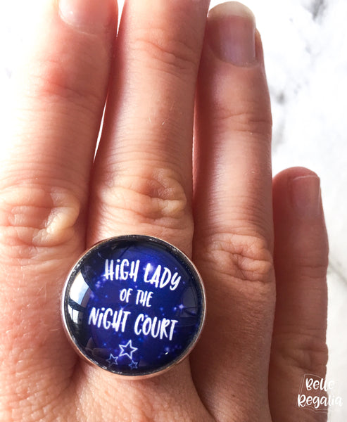High Lady of the Night Court ring - Belle Regalia