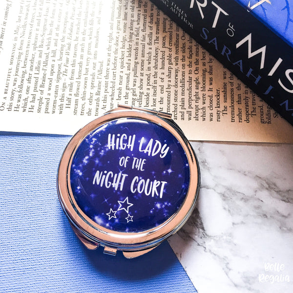 High Lady of the Night Court compact mirror - Belle Regalia