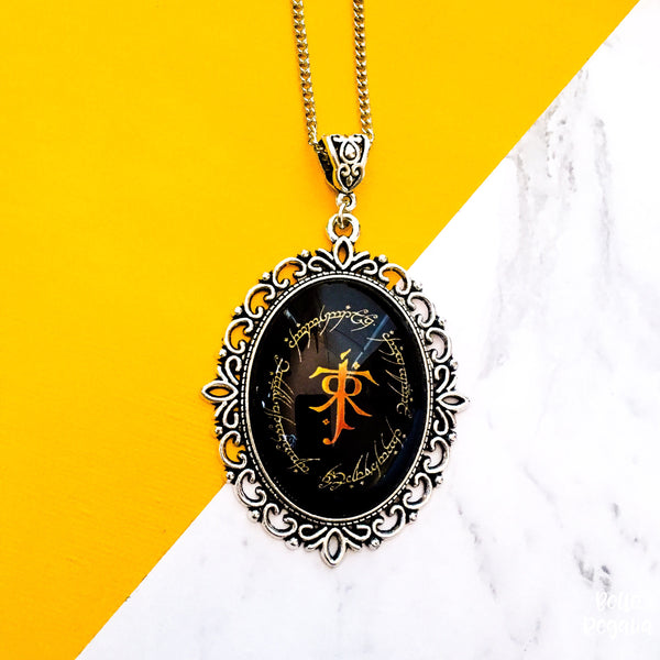 LOTR Elvish necklace - Belle Regalia