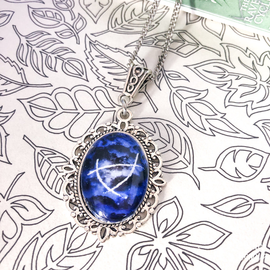 Small Ley lines Necklace ~ Raven Boys