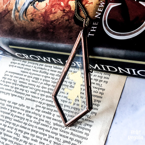 Aelin Galathynius Frame Necklace