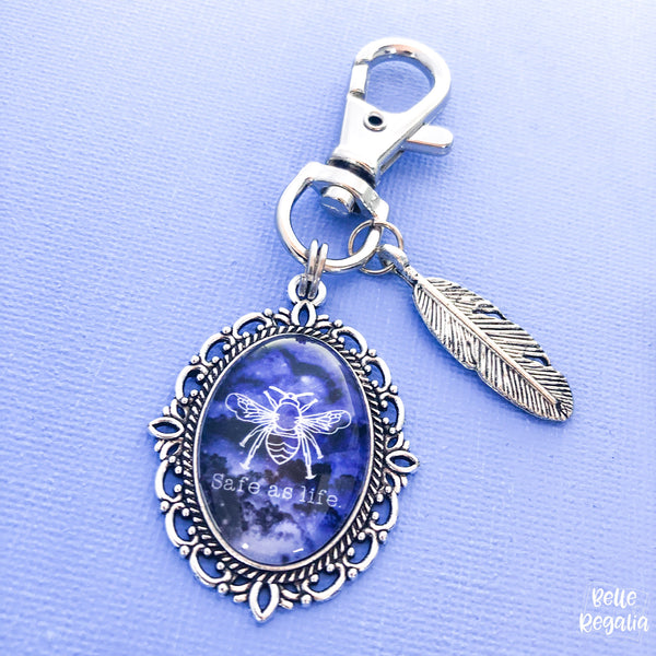 Safe As Life keychain ~ Raven Boys