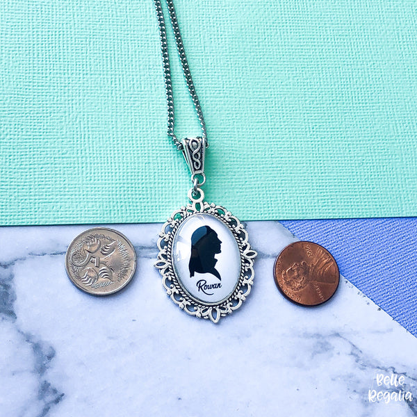 Rowan Whitethorn Silhouette Necklace