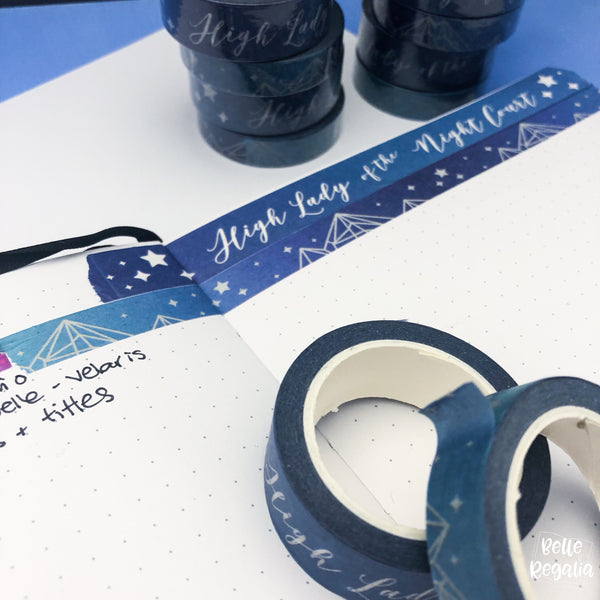 Night Court Washi Tape