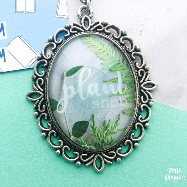 (Imperfect) Plant Snob necklace - large