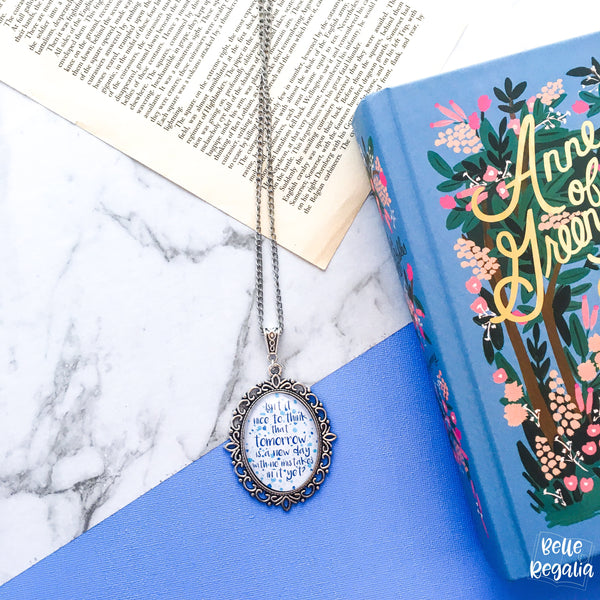 Anne of Green Gables quote necklace