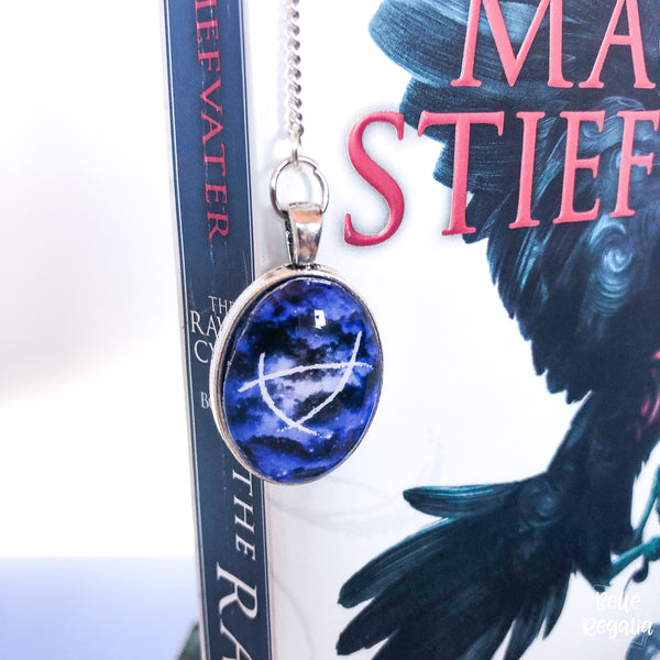 Ley lines metal bookmark~ Raven Boys