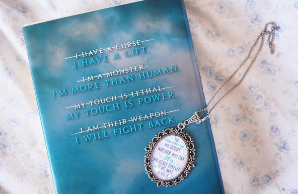 Peter Pan quote necklace
