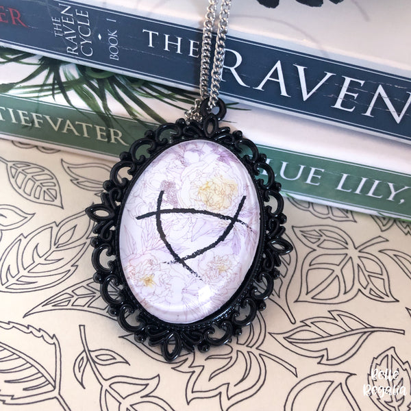 Floral Leylines Necklace ~ Raven Boys