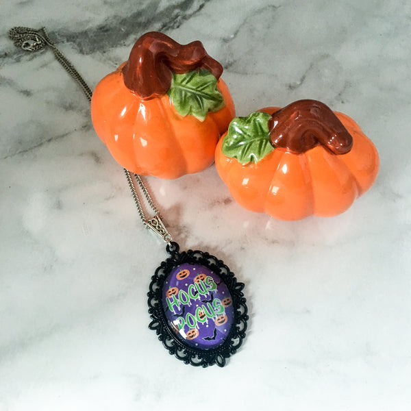Hocus Pocus Halloween Necklace - Belle Regalia