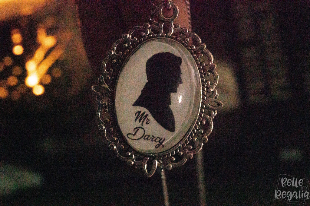 Mr Darcy Silhouette Necklace