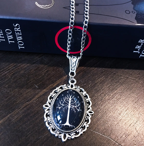 White Tree of Gondor Necklace