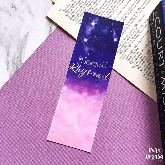 In Search Of: Rhysand bookmark - Belle Regalia