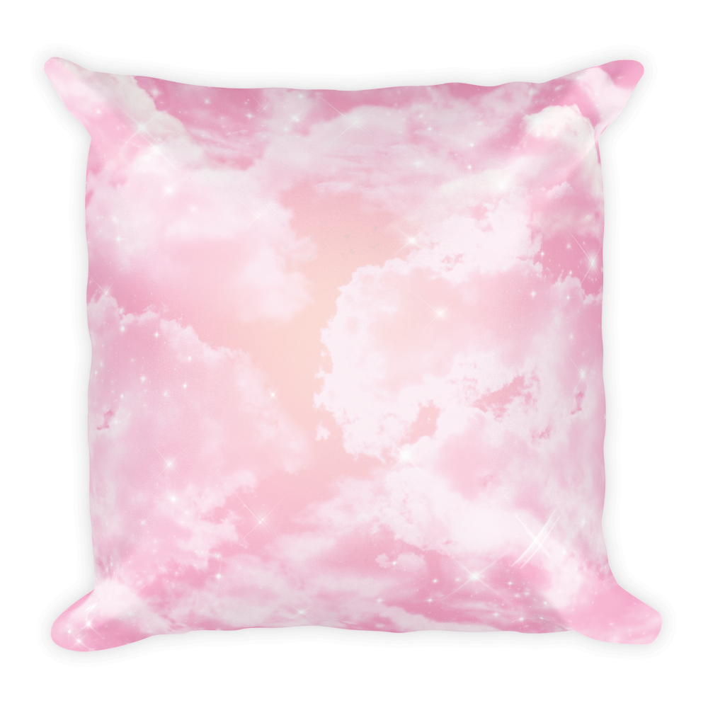 Starry Sunset Square Pillow