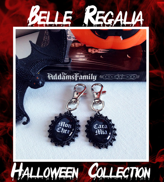 Addams Family Keyring Set - Belle Regalia