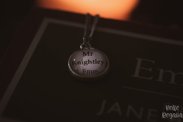 Mr Knightley minimal necklace