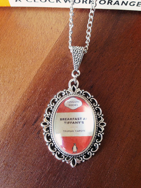 Popular Penguin Classics Book Cover Necklace (small) - Belle Regalia - 1