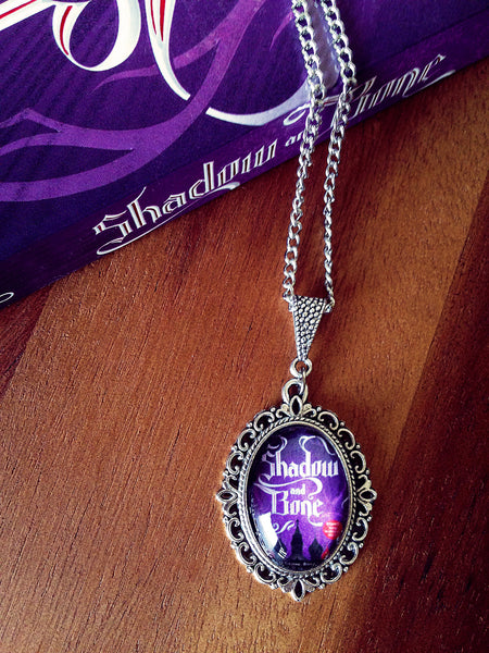 Shadow and Bone Book Cover Necklace (small) - Belle Regalia - 2