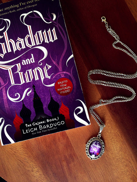 Shadow and Bone Book Cover Necklace (small) - Belle Regalia - 3