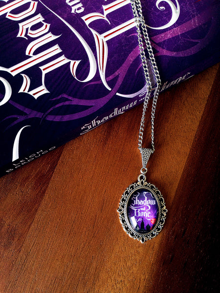 Shadow and Bone Book Cover Necklace (small) - Belle Regalia - 4