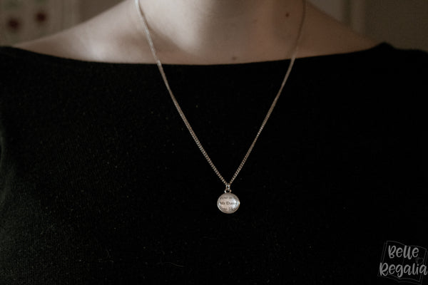 Rowan minimal necklace