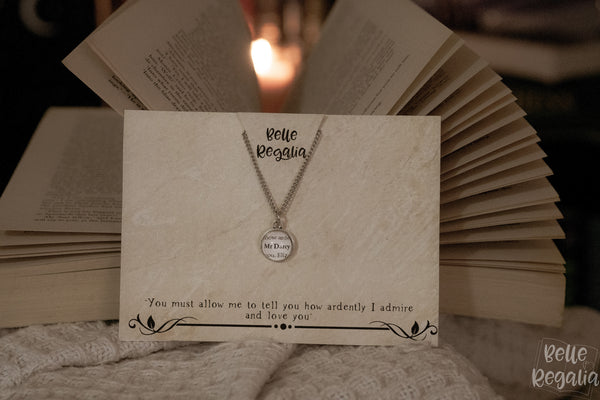 Mr Darcy minimal necklace