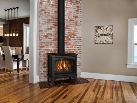 Kozy Heat Gas Stove: Birchwood