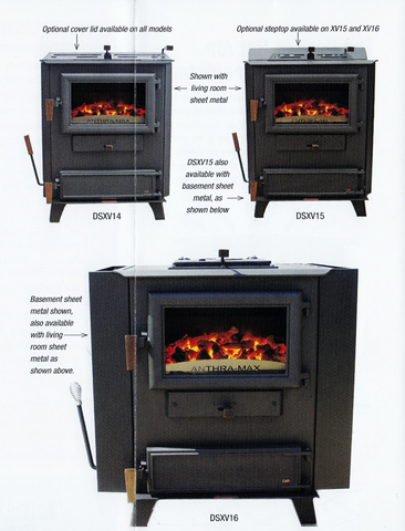 DS Machine Coal Stove: Anthra-Max 15
