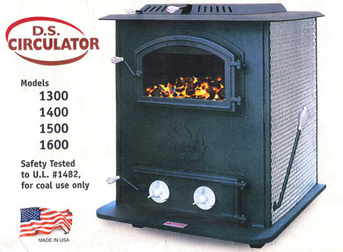 DS Circulator 1600: DS Machine Coal Stove