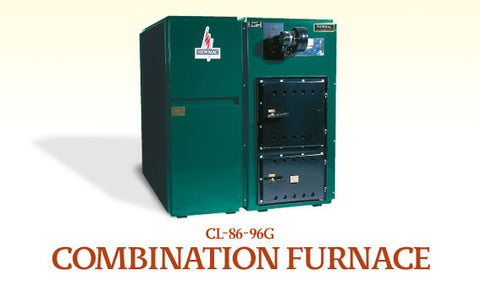 CL86G / CL96G: Newmac Multi-fuel Furnace (Wood, Coal and Oil)