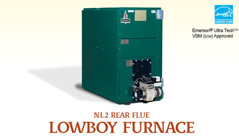 NL2 Rear Flu Lowboy: Newmac Oil Furnace