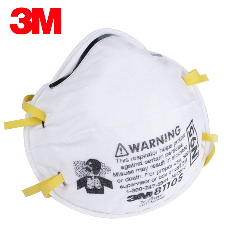 3M 8110S NIOSH Approved N95 Mask