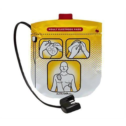 Defibtech Lifeline View Adult AED Pads | DDP-2001 - CarePoint Resources LLC