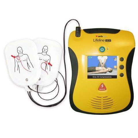 Defibtech Lifeline View AED | DCF-A2310EN - CarePoint Resources LLC