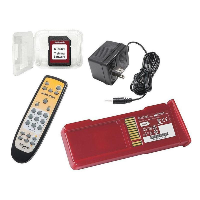 Defibtech TRAINING Package with Remote | DCF-A303T-EN - CarePoint Resources LLC