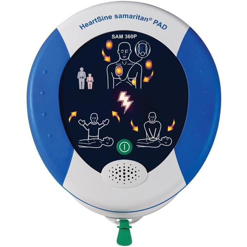 HeartSine Samaritan PAD 360p Fully Automatic AED | 80514-000309 - CarePoint Resources LLC