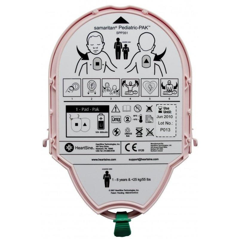 HeartSine Samaritan Pediatric PAD-Pak | 11516-000004 - CarePoint Resources LLC
