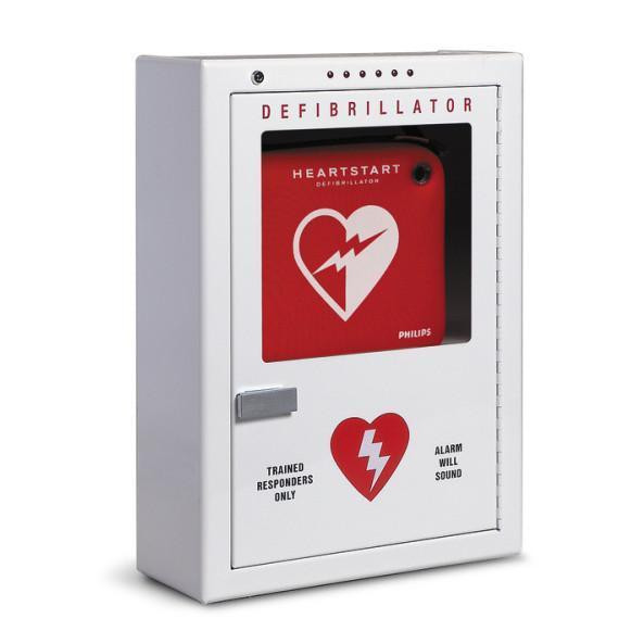 Philips Brand Premium Surface Mount AED Cabinet | PFE7024D - CarePoint Resources LLC