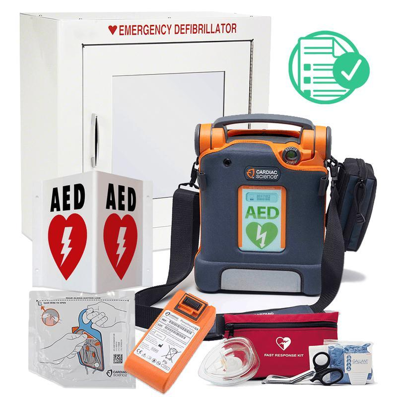 Powerheart G5 AED Small Business Value Package - CarePoint Resources LLC